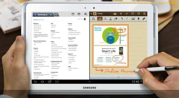 Samsung has announced a global release by the end of the month for its next tablet, the Galaxy Note 10.1