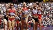 "<span style=""font-size: small;"">Morgan Uceny safely advanced to the semifinals of the women's 1,500 meters at the London Olympics Monday, finishing second in the third of three qualifying heats, and then took time to post a note on Facebook.</span>"