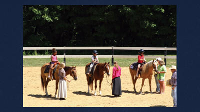 The annual Horse Show to Benefit Windber Hospice features a number of activities for children and their horses.
