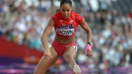 Hampton's Brown advances to 400-meter hurdles final
