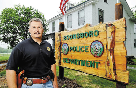 Boonsboro Chief of Police Jeff Hewett