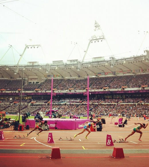 London 2012: Stunning mobile uploads from the Summer Olympics: Go! --@flicpic