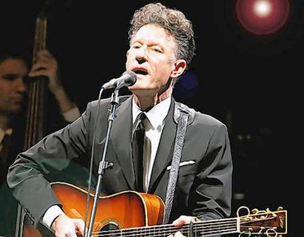 Lyle Lovett performs Sunday, Aug. 12, at Warner Theatre in Torrington.