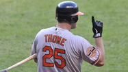 Designated hitter Jim Thome said after he received an epidural shot for a herniated disk in his neck Thursday, doctors told him he would need to rest for 30 days before beginning baseball activities again.