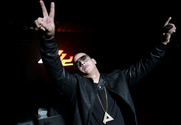 """Daddy Yankee's collaboration with Luis Fonsi, """"Despacito,"""" has racked up 4.6 billion streams this year. (Jay L. Clendenin / Los Angeles Times)"""