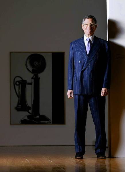 """What we're doing here now, it's on the most serious level,"" says MOCA director Jeffrey Deitch, shown in 2010."