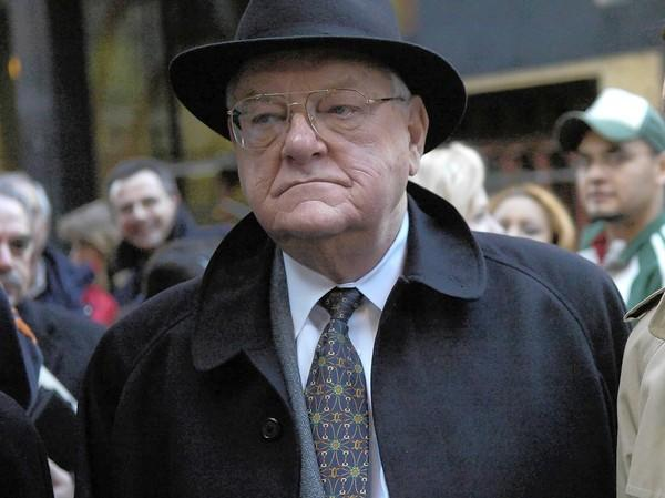 Former Gov. George Ryan, shown leaving court in 2006, is nearing the end of his sentence, which he'll likely see through to its end now that another of his appeals has been dismissed.