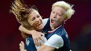 MANCHESTER, England — Amid the chaos at the bottom of a mound of joy that formed after Alex Morgan's goal in the 123rd minute gave the U.S. women's soccer team an epic 4-3 Olympic semifinal victory Monday night over Canada at Old Trafford, Abby Wambach found clarity.