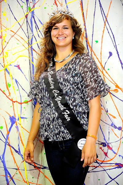 Alicia Pownall, 18, of Martinsburg, W.Va., is this years Berkely County Youth Fair queen.