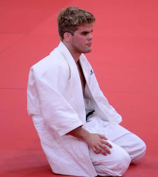 2012 Summer Olympics Best and Worst moments: U.S. judo grappler Nick Delpopolo has been banned from the games after a positive drug test. He says in a statement, My positive test was caused by my inadvertent consumption of food that I did not realize had been baked with marijuana, before I left for the Olympic Games. Oops.  -- Andrea Reiher, Zap2it
