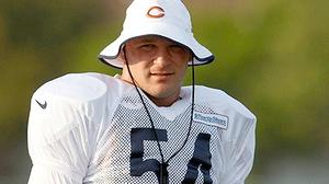 Urlacher's absence doesn't worry Bears