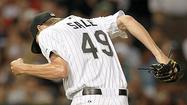 Several sets of eyes glanced at the speed readings at U.S. Cellular Field as left-hander Chris Sale showed his recharged left arm was healthy by throwing fastballs clocked at 95 mph.
