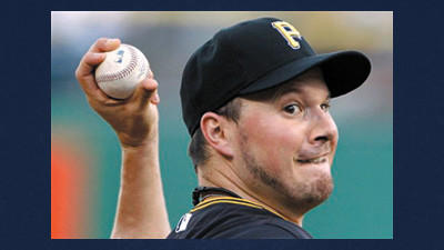 Pittsburgh Pirates pitcher Erik Bedard delivers during the first inning of a baseball game Monday against the Arizona Diamondbacks.