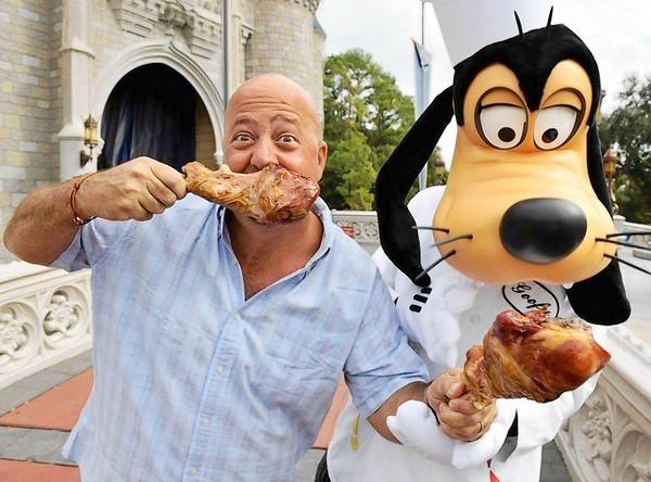 "Andrew Zimmern, host of ""Bizarre Foods with Andrew Zimmern"" on <a class=""taxInlineTagLink"" id=""ORCRP000017532"" title=""Travel Channel (tv network)"" href=""/topic/economy-business-finance/media-industry/television-industry/travel-channel-%28tv-network%29-ORCRP000017532.topic"">Travel Cha"