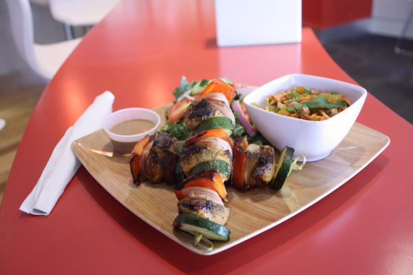 Skewers at Bountiful Eatery