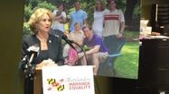 Townsend supports same-sex marriage at Baltimore event.