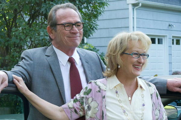 "Tommy Lee Jones and Meryl Streep star in ""Hope Springs."""
