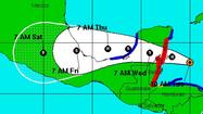 Tropics stirring as Ernesto reaches hurricane strength