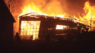 Matanuska Maid Dairy Building Burns Down