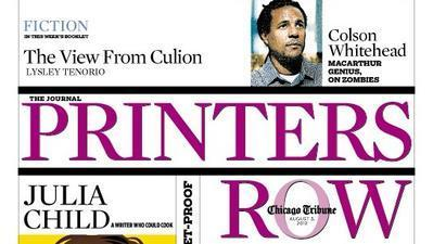 The cover of the August 5, 2012 edition of Printers Row (August 3, 2012)
