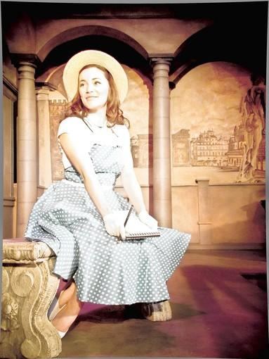 "Rachel Kippel in the musical  ""The Light in the Piazza"" at Theo Ubique."