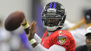 If the Ravens' plan for inserting their backup quarterbacks plays out as it has in training camp and according to the depth chart, Tyrod Taylor will likely get the first opportunity to succeed starter Joe Flacco in the team's preseason opener at the Atlanta Falcons.