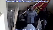 Three men or boys who robbed a Cicero jewelry store this afternoon, tying up the clerk and stealing $40,000 worth of jewelry. Cicero police surveillance photo