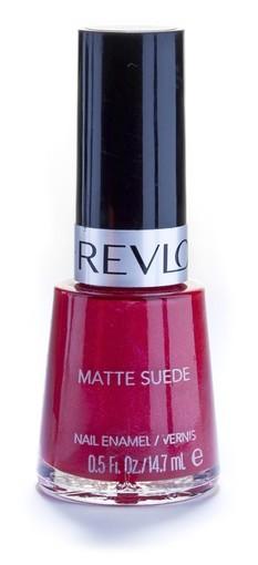 Revlon's Fire Fox matte suede