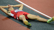 If the Algerian runner had stayed disqualified. If a fellow American hadn't surged past him near the finish line. If he had run .05 of a second faster.