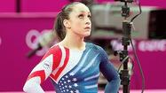 "LONDON — In perhaps the most awkward moment for U.S. gymnast Jordyn Wieber in an Olympics full of them, the ""Star Spangled Banner"" played Tuesday inside North Greenwich Arena as reporters surrounded the tough-luck 17-year-old in the mixed zone."