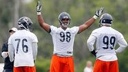 BOURBONNAIS — As much as he has talked about defensive end Corey Wootton's progress in training camp, Bears coach Lovie Smith has been careful not to go overboard with praise.