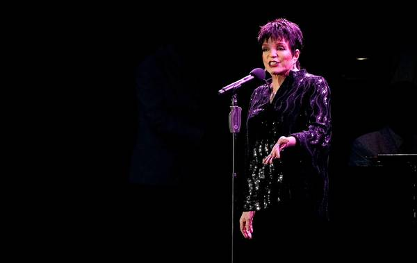 "Liza Minnelli will perform selections from her ""Confessions"" and ""Live at the Winter Garden"" albums."