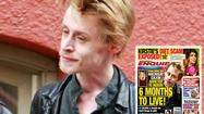 "After being the center of drug addiction claims, actor <strong><strong>Macaulay Culkin</strong></strong> was spotted in Los Angeles looking, well, <a href=""http://www.eonline.com/news/293071/macaulay-culkin-looks-so-thin-is-he-ok"" target=""_blank"">better than before</a>."