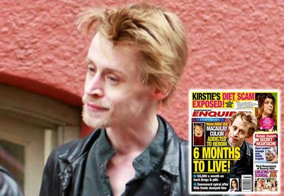 Macaulay Culkin Emerges After Drug-Addiction Rumors