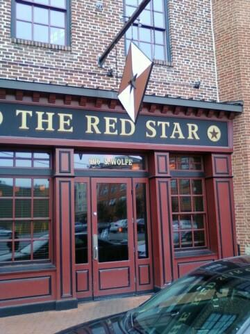 Michael Phelps' 40 favorite things [Pictures]: Red Star in Fells Point, very close to his old condo. He wrote on Twitter, It is a good little place.