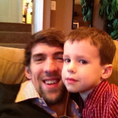 Michael Phelps' 40 favorite things [Pictures]: A Christmas Story. The holiday classic. My nephew and i watching the Christmas story... Best Xmas movie, he wrote.