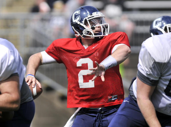 Mike Nebrich, a UConn sophomore QB, said Wednesday he is transferring.