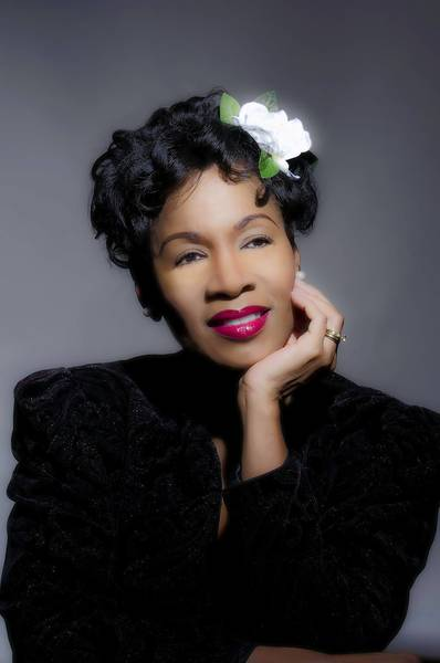 "Paulette Dozier plays Billie Holiday in ""Lady Day at Emerson's Bar and Grill."""