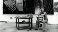 Picture: Jimm Roberts portrait of James Rosenquist