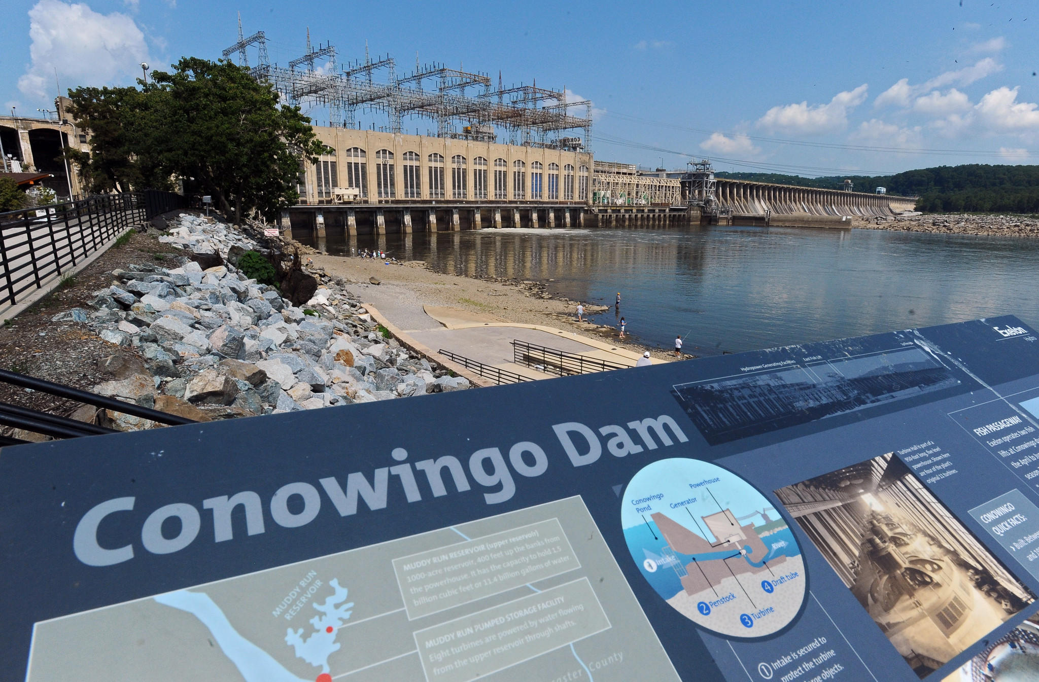Aug. 5: On a hot summer day, it's hard to see how the Conowingo Dam could hurt the Chesapeake Bay. Anglers line the shore below the 94-foot high impoundment, casting out into the gently roiling Susquehanna River for rockfish breaking the water. Read the complete story.