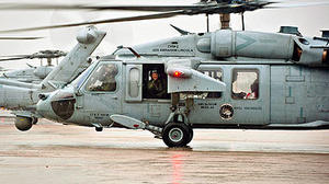 Chopper squadron flies home from East Coast
