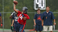 PHOTOS: University of Virginia football practice