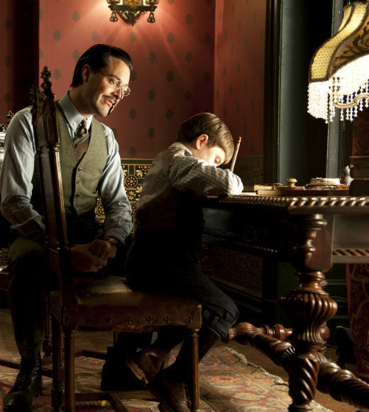'Boardwalk Empire' Season 3: Jack Huston as Richard Harrow; Brady Noon as Tommy Darmody