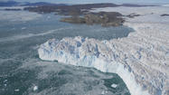 Greenland ice melting in fits and starts