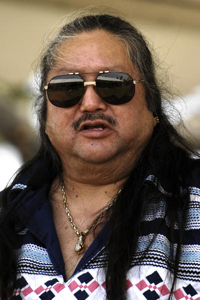 David R. Cypress, the former Seminole Tribe of Florida Council Member during the 2007 swearing-in of officers at the Seminole Reservation near Hollywood. He has since left the council and pleaded guilty to filing a false tax return.  Staff photo/ Joe Amon South Florida Sun-Sentinel
