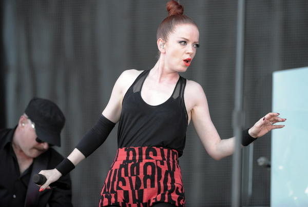 Shirley Manson of Garbage.