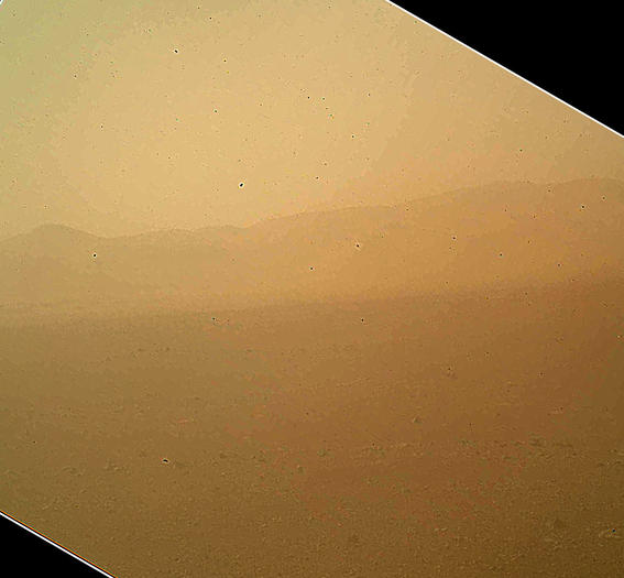 Color image from Curiosity
