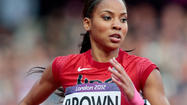 It wasn't the finish T'Erea Brown wanted — she finished sixth in the 400-meter hurdles final Wednesday at Olympic Stadium.
