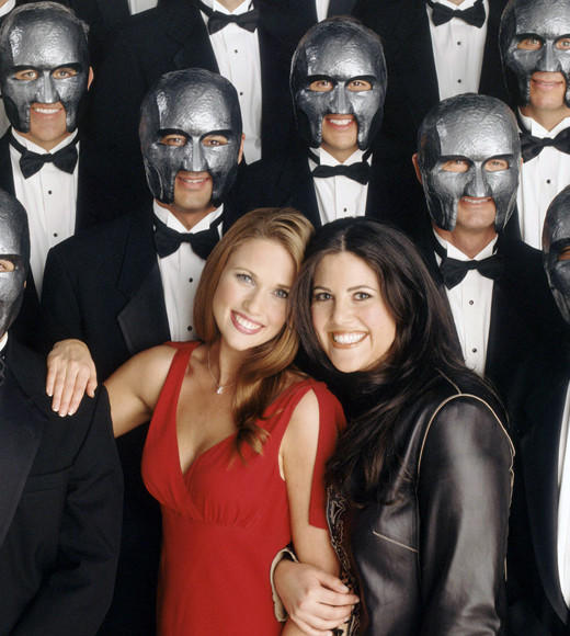 The Weirdest Reality TV Shows of All Time: OK. If this promotional photo isnt enough to justify why Mr. Personality is one of the weirdest reality shows of all time, here are a few more details: Monica Lewinski hosted this FOX series in which a woman had to select a husband from a group of 20 prospective suitors -- who wore creepy masks the entire time in an effort to base the matchmaking solely on personality, rather than looks. This is the stuff that reality TV nightmares are made of.