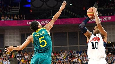 U.S. downs Australia, advances to semis vs. Argentina